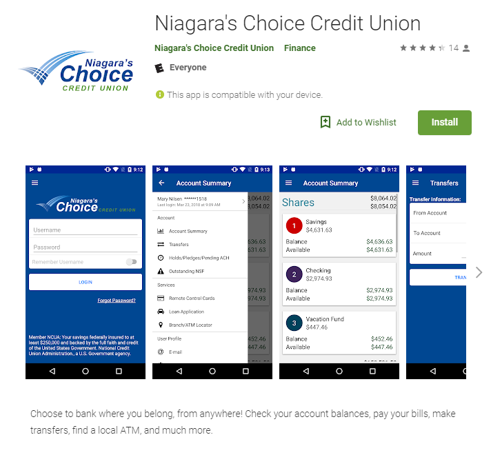 NCFCU - Online Banking
