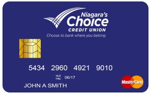 mastercard from Niagara' s Choice FCU